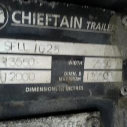 Chieftain Tri Axle