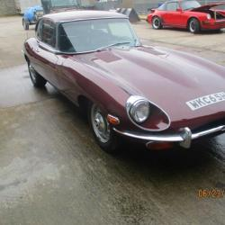 Jaguar E type 4.2 auto